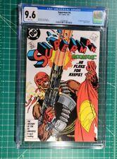 Superman #4 (1987) CGC NM 9.6 1st Appearance Bloodsport DC Suicide Squad ⚡SALE