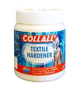 Textil Härter 250ml Dekorationshärter transparent Stoff Medium Collall COLHX250