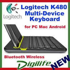 Logitech K480 Bluetooth Multi-Device Keyboard Black for smartphone tablet iPad