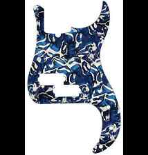 D'ANDREA PRO P BASS PICKGUARD 13 HOLE BLUE SWIRL PEARLOID MADE IN THE USA