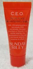 Sunday Riley C.E.O. Rapid Flash BRIGHTENING SERUM Dark Spots .17 oz/5mL New