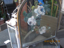 VINTAGE ART DECO / ART NOUVEAU MIRRORED FIRE SCREEN METAL FRAME