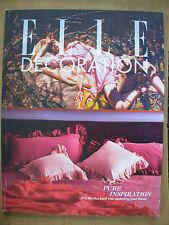 April Elle Decoration Home Magazines