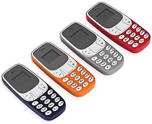Mini Telefono Cellulare Tascabile Bluetooth Dual Sim Tascabile Gsm Sms Mp3