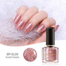 6ml BORN PRETTY Rose Gold Series Pure Color Nail Polish  Pink Glitter  Varnish