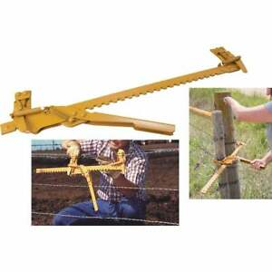Goldenrod Ratchet Fence & Wire Stretcher 400 FENCE TOOL  - 1 Each