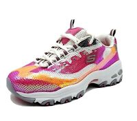 New Skechers D'Lites Womens Size 6 Limited Edition Sparkly Sequin Shoes