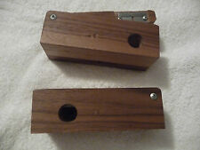 Shell cutters for reloaders exotic Purpleheart, Rosewood and other Hardwoods