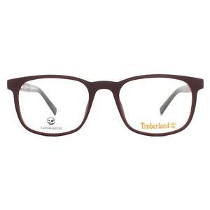 Timberland Eyeglasses TB1583 070 Matte Bordeaux Men