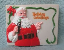 Coca Cola Santa Claus Christmas 3D Magnet Souvenir Travel Refrigerator