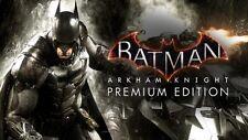 Batman Arkham Knight Premium Edition PC Steam Code NEW Download Fast Region Fre