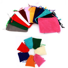 10X Velvet Cloth Drawstring Bag Jewelry Ring Pouch Wedding Favors Small Gift Bag