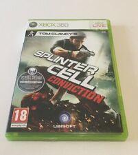 Splinter Cell conviction - Microsoft XBOX 360 - Complet - Version FR