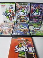 The Sims 3 BonusLOT 6 w/ 3 Expansion Packs Sims 2 Expansion pack