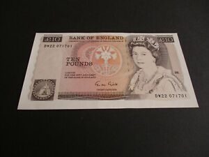 B354 - ERROR-  BANK OF ENGLAND £10 POUND NOTE - G.M.GILL -  DW22 071701