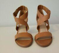 Simply Vera Vera Wang Comfort Chunky Platform High Heel Sandals Size 8