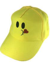 Adults Kissing Love Emoticon Emoji Baseball Hat Costume Accessory