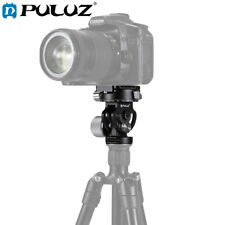 PULUZ 2-Way Pan/Tilt Tripod Head Panoramic Photography Head with Quick Release