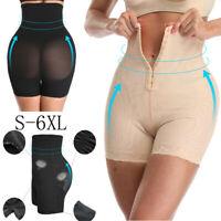 Ladies Seamless Shapewear Tummy Control Thigh Slimmer High Waist Body Shaper