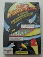 """""""Jeremy Silman's GUIDE TO CHESS OPENINGS"""" Commodore 64! SEALED! RARE 1986?"""