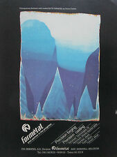 9/1980 PUB FN FORMETAL HERSTAL FORGE CASTING CHIMIGRAMME PIERRE CORDIER AD