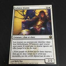 MTG MAGIC SCARS OF MIRRODIN LEONIN ARBITER (FRENCH ARBITRE LEONIN) NM