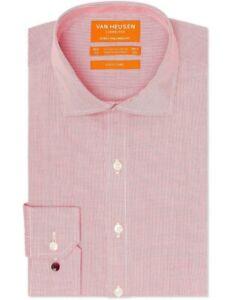 Van Heusen Mens Commuter Euro Tailored Fit Multi Check Business Shirts Sizes 2XL