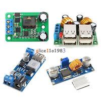 4-USB Port/ XL4015 DC-DC 12V/24V to 5V 5A Buck Converter Power Supply Step Down