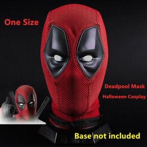 Deadpool Maske Halloween Cosplay Horror Requisiten Vollgesichtshaube Atemhelm