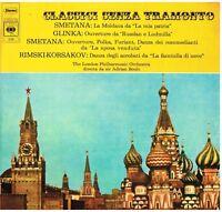 Smetana: La Moldava, Glinka: Ov. Russlan E Ludmilla, Etc Adrian Boult - LP