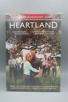 Heartland: Season 6 (DVD, 2013, 5-Disc Set, Canadian) Complete Sixth Season NEW