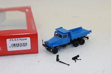 Herpa 307581  IFA G5 Muldenkipper, blau   H0  1:87  NEU in OVP