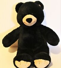 """Build A Bear Plush Black Bear- Stuffed Animal Teddy Bear 17"""" Tall"""