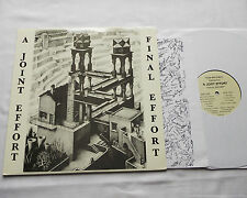 A JOINT EFFORT Final effort USA LP+Insert VOID 44 (RE - 2006) psych folk - NEW