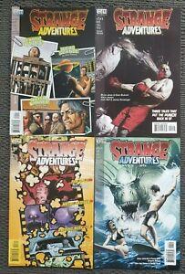 Mature Reader Complete 4 Comic Set: Strange Adventures - DC Vertigo 1999