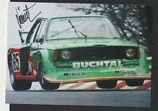 BMW 320 GROUP 5 NURBURGRING DRM 1978 DIETER QUESTER HAND SIGNED PHOTOGRAPH PHOTO