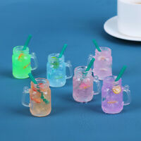 1/6 1/12 Dollhouse Miniature Ice Water Cups Toy Doll House Accessories Gifts_ws