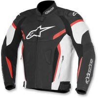 Alpinestars GP Plus R V2 Airflow Leather Jacket Size 54 Black/White/Red X-Large