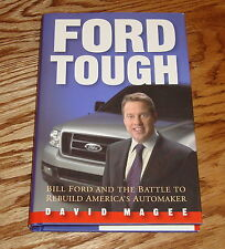 Ford Tough Hardcover HC 1st Edition Book Signed David Magee