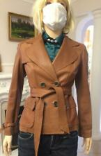 Karen Millen Leather Jacket Size UK 10