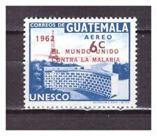 S27118) GUATEMALA 1962 MNH** UNESCO overprinted Malaria 1v