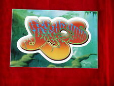 YES~ RARE~PART OF A DISPLAY~ STICKER~ PEEL AND STICK~ PROMO ONLY~ ~COLLECTABLES