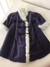 "Original American Girl Winter Coat Dress for 18"" Samantha Doll"