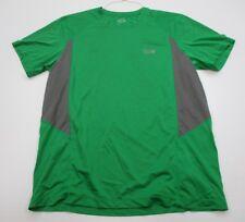 MOUNTAIN HARDWEAR #T1013 Men's Size L Athletic HIKING RUNNING Green Shirt