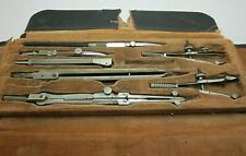 Vintage Eugene Dietzgen Co. Drafting Tool Kit