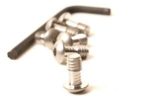 1/4-20 x 0.5 Captive screws set of 6 for Hejnar etc