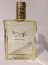 Bronze Goddess By Estee Lauder Body Splash 8.1 OZ w/o box 90% full