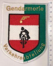 Patch Gendarmerie Bendesgendarmerie Verkehrsabteilung