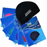 Zoggs Deluxe Stretch Cap Spandex Fabric Material Swimming Swim Pool Hat New Caps