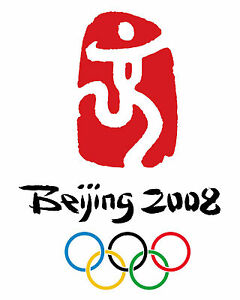 """2008 Beijing Summer Olympic Poster - 8""""x10"""" Photo"""